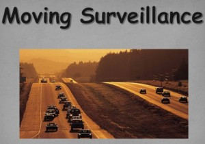 Moving Surveillance – Whitley County